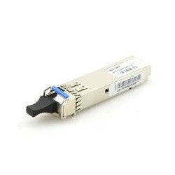 Foundry Networks E1MG-100BXU Compatible 100BASE-BX-U SFP 1310nm-TX/1550nm-RX 10km DOM Transceiver